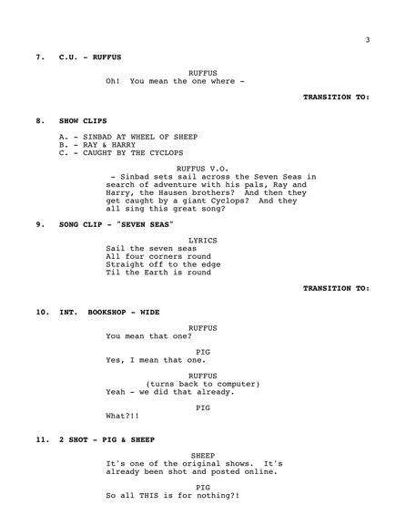 Script - Page Three